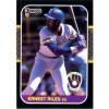 Ernest Riles - Milwaukee Brewers 1987 Donruss Baseball Card