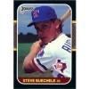 Steve Buechele - Texas Rangers 1987 Donruss Baseball Card