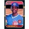Thad Bosley - Chicago Cubs 1987 Donruss Baseball Card