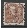 1939 SWEDEN   15 o. Carl von Linne  used, Scott # 294