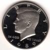 1989s Gem Proof Kennedy Half Dollar