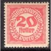 Austria (1920-21) S# J78 MNH