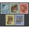 1966 SWITZERLAND  complete set Pro Juventute issues  mint*, Scott # B360-B364