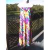 Haoohu Floral Strapless (s10) Maxi Dress