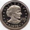 1979s Gem Proof DC Susan B Anthony Dollar