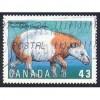 Canada 1529 Prehistoric Life: Coryphodon CV = 0.25$