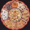 Malaysia 2017-02 Festive Food Series -- Chinese M/S MNH unusual (shape)