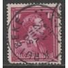 1936  BELGIUM   1 Fr.  King Leopold  III  used, Scott # 284