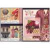 Malaysia 2013 S#1479-1481 Baba & Nyonya Heritage set+M/S flora rose costume