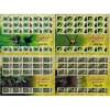 Malaysia 2009 S#1274-1277 Arachnid full sheet MNH fauna spider