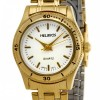 Helbros Ladies' Goldtone Bracelet Watch with White Dial