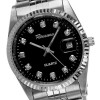 Rousseau Gents Riley Stainless Steel Bracelet Watch