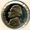 1972s Gem Proof Jefferson Nickel Cameo