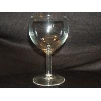 Designer Wine Glass Stemware 5 1/2in-T x 3in Clear Classic Glass