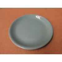 Sunset Pottery Dinner Plate 9 1/2in Diameter x 1in H Aqua Green Ceramic