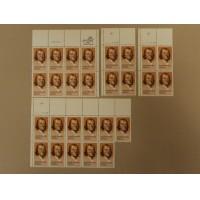 USPS Scott 2038 20c 1983 Joseph Priestley Lot of 4 Plate Block 27 Stamps Mint NH