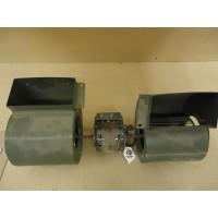 A.O. Smith Dual Fan Assembly 1/3 HP 208-230V RPM: 1625 2.3A Metal