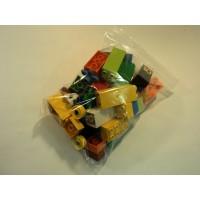Lego Building Blocks and Accessories Multicolor Lot of 57 Plastic