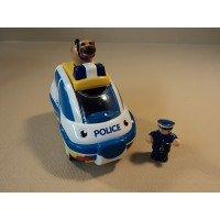 WOW Police Chase Charlie Emergency Multicolor 3 Pieces Friction Powered 04050