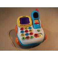 Vtech Tiny Talk Light Up Phone Multicolor 6148