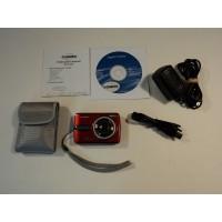Cobra 12MP Digital Camera Red 2.4-in LTPS Color Display 8x Zoom DCA1220RED