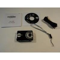 Cobra 10MP Digital Camera Black 2.4-in LTPS Color Display 4X Zoom DCA1030BLK