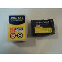 Standard Digital Video Battery JVC Lithium Black OEM Quality BN-V607