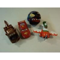 Disney Pixar Lighting McQueen Mader El Chupacabra Cars Soft Ball Car Truck Plane