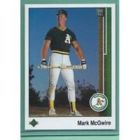 1989 Upper Deck # 300 MARK MCGWIRE A's MINT baseball