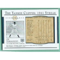 2003 Upper Deck Play Ball Yankee Clipper 1941 Streak #S20 JOE DIMAGGIO