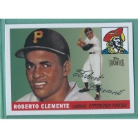 2012 Topps Archives Reprints #164 1955 ROBERTO CLEMENTE RC Pirates HOF
