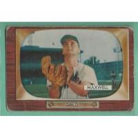 1955 Bowman #162 CHARLIE MAXWELL Orioles Vintage Baseball