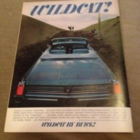 WILDCAT BY BUICK  MAG ADVERTISEMENT