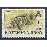 BRITISH HONDURAS 1969 – MH Sc. 235. CV $1.50