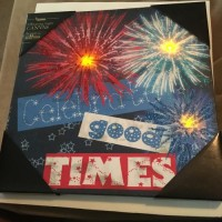 LIGHTED CANVAS   CELEBRATE GOOD TIMES   SKU 4