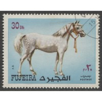 1972 FUJEIRA  30 Dh.  Horse,  issue  used, Michel # 1538 A
