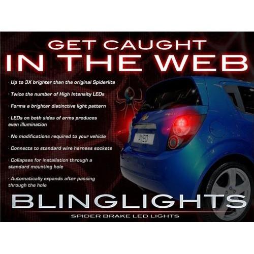 Chevrolet Chevy Sonic Custom LED Light Bulbs Pair for Tail Lights