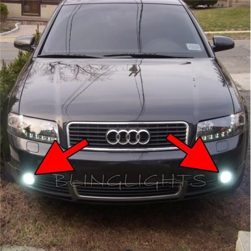2002 2003 2004 2005 Audi A4 Xenon Fog Lights Driving Lights Fog Lights Driving