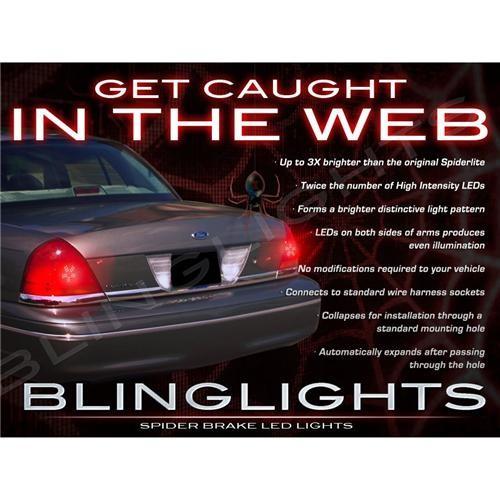 1992-2011 Mercury Grand Marquis Custom LED Light Bulbs for Tail Lights