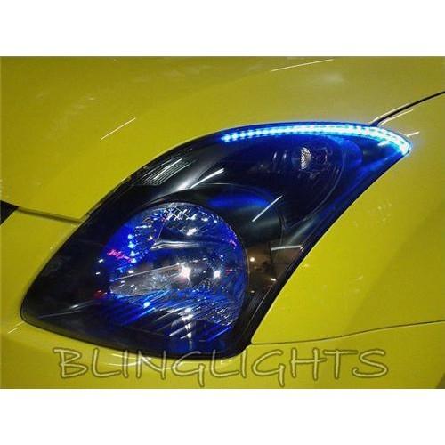 Suzuki Swift LED DRL Light Strips for Head Lights Day Time Running Sport Lights