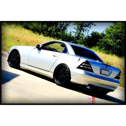 1996 1997 1998 1999 2000 Mercedes-Benz SLK 200 R170 Tint Overlay Tail Lights Ta