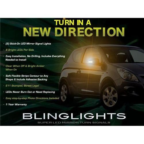 Hyundai i20 ix20 Side LED Mirror Turnsignals Turn Signals Mirrors Signalers Lig