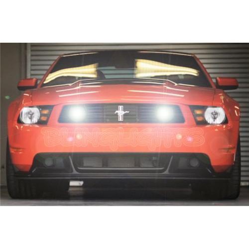 Ford Mustang Boss 302 Grill Driving Lamp Fog Lights Kit LED DrivingLight Foglam