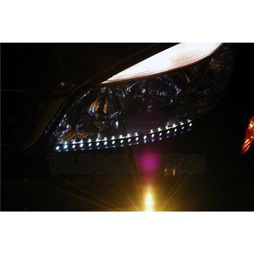 Mercedes C63 AMG LED DRL Strip Lights for Head Lights Head Light Lamps LEDs DRL