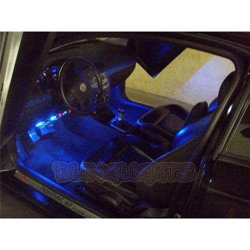 Chevrolet Chevy Cobalt White LED Interior Accent Floor Mood Lighting Foot Well