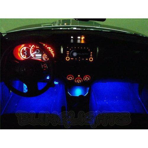 Subaru Impreza White Interior LED Lighting Floor Footwell Lights Foot Door Sill