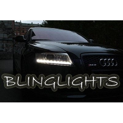 2002 2003 2004 Audi RS6 LED DRL Strips Head Lights Day Time Running Strip Light