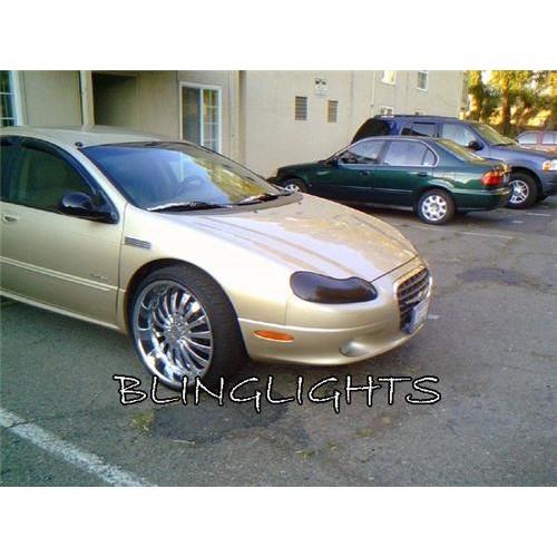 Chrysler LHS Tint Smoke Overlay for Head Lights Protection Film