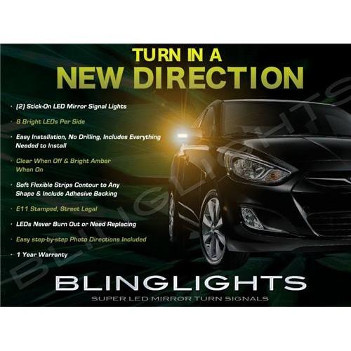 Hyundai Verna LED Side Mirrors Turnsignals Lights Mirror Turn Signals Lamps Sig