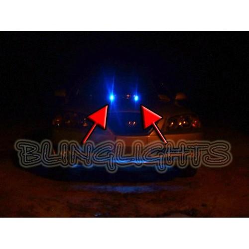 Hyundai Elantra White LED Strobe Lamps Lights for Hood Windshield Bonnet Washer